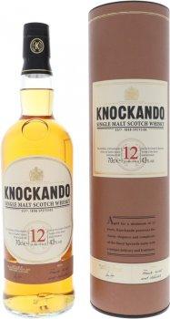 Виски односолодовый Knockando 12 лет выдержки в подарочной упаковке 0.7 л 43% (5010103940610)