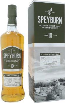 Виски односолодовый Speyburn 10 лет выдержки в подарочной упаковке 0.7 л 40% (5010509021067)