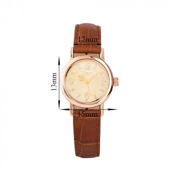 Золотые кварцевые часы 000136607