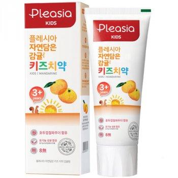 Детская зубная паста Amore Pacific Pleasia Kids Mandarine от 3 лет 80 г (8809559326171)