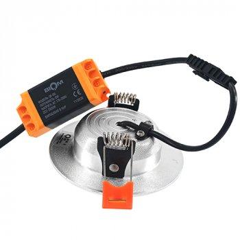 Світильник LED Biom Downlight DF-6G 6Вт сірий круглий 5000К