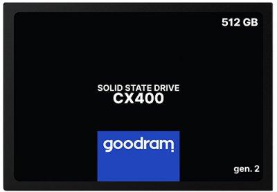 """Goodram CX400 512GB 2.5"""" TLC (SSDPR-CX400-512-G2)"""