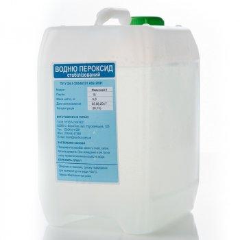 Перекис водню медична Інтер-синтез 50% 5 кг