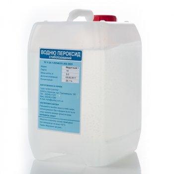 Перекис водню медична Інтер-синтез 35% 5 кг