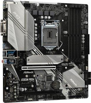 Материнська плата ASRock B365M Pro4 (s1151, Intel B365, PCI-Ex16)