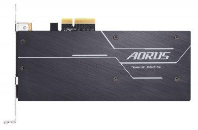 SSD Gigabyte Aorus RGB AIC NVMe 512GB PCIe 3.0 3D NAND TLC (GP-ASACNE2512GTTDR)