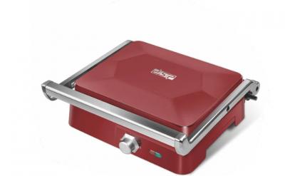 Електричний гриль двосторонній DSP KB1049A-Red , 1800 Вт