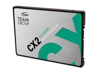 """Накопичувач SSD 1TB Team CX2 2.5"""" SATAIII 3D TLC (T253X6001T0C101)"""