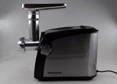 Электромясорубка с соковыжималкой и насадками Promotec PM-1055 3200 Вт Black/Silver (par_PM 1055)