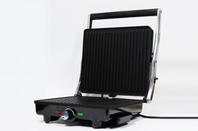 Гриль електричний притискної Crownberg Cb-1043 2000 Вт з терморегулятором (par_CB 1043)
