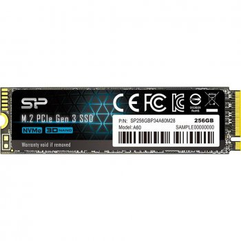 SSD-диск Silicon Power SP256GBP34A60M28 (SP256GBP34A60M28)