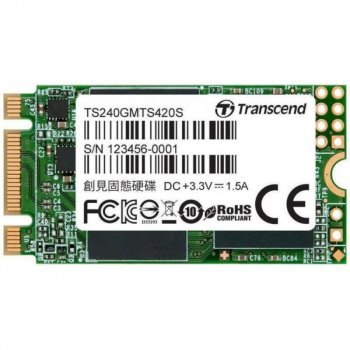 Transcend MTS420 240GB TS240GMTS420S (TS240GMTS420S)