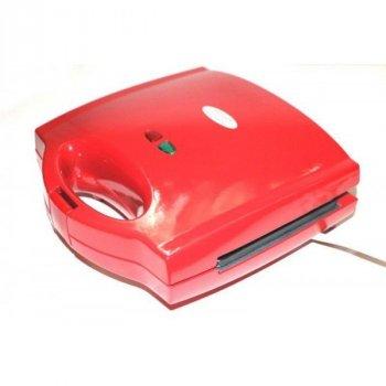Мультимейкер 3-в-1 сендвичница гриль вафельниця Wimpex WX-1056 700W Red