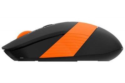 Миша бездротова A4Tech FG10 Black/Orange USB