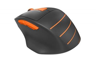 Миша бездротова A4Tech FG30 Black/Orange USB