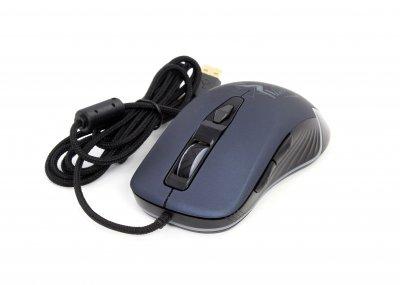 Игровая Мышь Frime Hela USB Navy Blue (FMC1841)