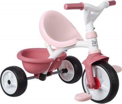 Детский велосипед 2 в 1 Smoby Toys Би Муви металлический Розовый 68х52х52 см (740332) (3032167403322)