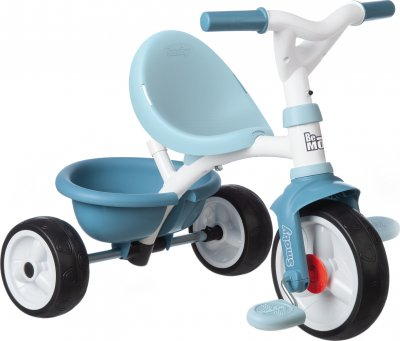 Детский велосипед 3 в 1 Smoby Toys Би Муви Комфорт металлический Голубой 68х52х101 см (740414) (3032167404145)