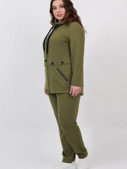Спортивний костюм All Posa Лорія 100527 Зелений
