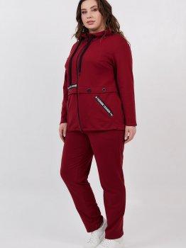 Спортивный костюм All Posa Лория 100529 Бордовый