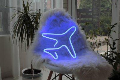 Неоновий світильник Neon Lightning «Літак»