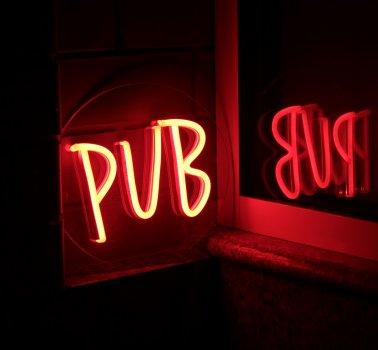 Неоновий світильник Neon Lightning «Pub»
