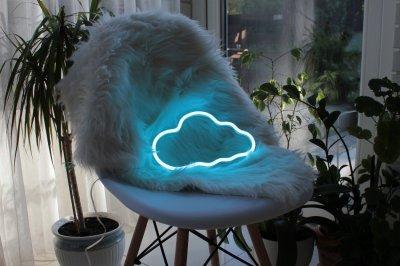 Неоновий світильник Neon Lightning «Хмара»