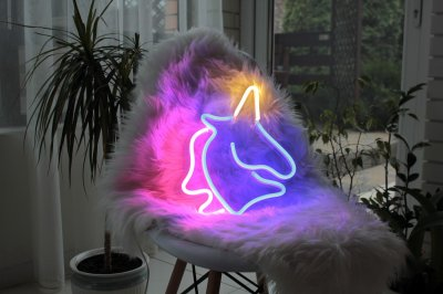 Неоновий світильник Neon Lightning «Єдиноріг»
