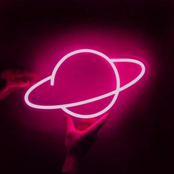 Неоновий світильник Neon Lightning «Планета»