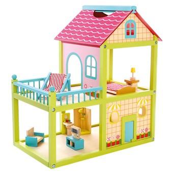 Іграшковий будиночок для ляльок Bino (83556)