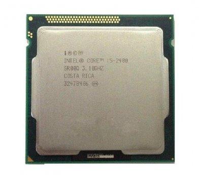 Процесор Intel Core i5-2400 (S1155/4x3.1GHz/5GT/s/6MB/95 Вт/BX80623I52400) Б/У