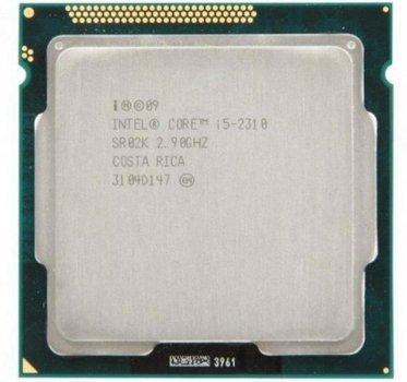 Процесор Intel Core i5-2310 (S1155/4x3.0GHz/5GT/s/6MB/95 Вт/BX80623I52310) Б/У