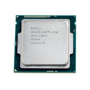 Процесор Intel Core i5-4590 (S1150/4x3.3GHz/5GT/s/6MB/84Вт/BX80646I54590) Б/У