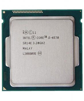 Процессор Intel Core i5-4570 (S1150/4x3.2GHz/5GT/s/6MB/84Вт/BX80646I54570) Б/У