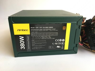 Блок живлення 380W Antec EarthWatts EA-380D GREEN, 2U, 1х120мм Б/У