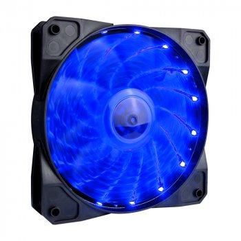 Вентилятор 1stPlayer A1-15LED Blue bulk; 120х120х25мм, 4-pin Molex