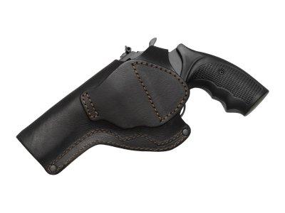 Кобура поясная Револьвер 4 не формованная Beneks Кожа Чёрная