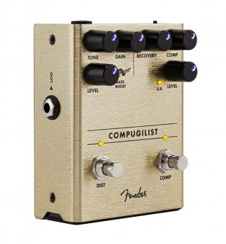 Педаль эффектов Fender Compugilist Compressor/Distortion