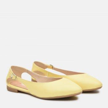 Балетки Ashoes 36284300 Жовті