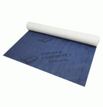 Кровельная супердиффузионная мембрана Strotex Supreme 170 г/м.кв стротекс суприм