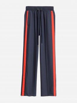 Спортивные штаны H&M 4204794-ACNL Темно-синие с красным
