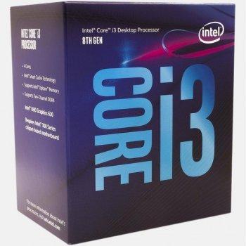 Процесор Intel Core i3-8100 3.6 GHz/8GT/s/6MB (BX80684I38100)