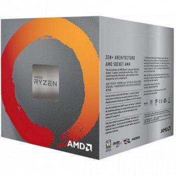 Процессор AMD Ryzen 5 3400G 3.7GHz/4MB (YD3400C5FHBOX) с видеокартой AMD Radeon Vega 11