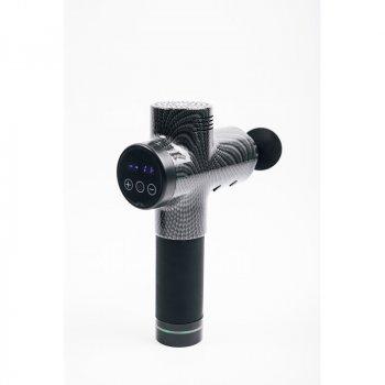 Портативный ручной массажер для всего тела, ударный массажер, вибрационный массажер, перкуссионный пистолет Fascial Gun 2 поколение Original Мышечный Carbon (WR 521)