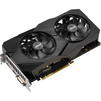 Asus PCI-Ex GeForce GTX 1660 Dual Advanced Edition EVO 6GB GDDR5 (192bit) (1830/8002) (DisplayPort, HDMI, DVI-D (DUAL-GTX1660-A6G-EVO)