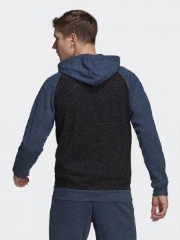 Толстовка Adidas M Mel Fz Hd GK8905 Blckme-Crname