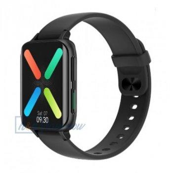 Смарт-годинник Smart Watch NO.1 DTX - Pro з тонометром, пульсоксиметром, ЕКГ з повнорозмірним дисплеєм 1.78 дюйма, Чорний (DP 0164386)