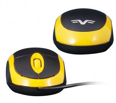 Мышь Frime FM-001BY Black/Yellow USB