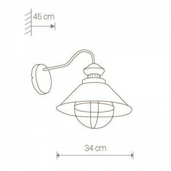 Настенный светильник бра Nowodvorski Loft 5058