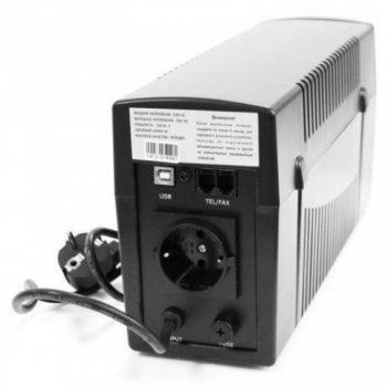 Джерело безперебійного живлення LogicPower U650VA-P USB (2436)